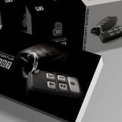 Разработка дизайна упаковки для иммобилайзера.