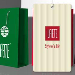 Компания Laete /Лаете/. Разработка фирменного стиля. Создание логотипа, разработка значка и дизайна пакетов, оформление мест продаж.